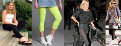 How Not To Wear Leggings