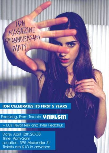 Ion Magazine 5th Anniversary Party Announced