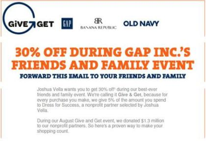 Want 30% Off Banana Republic, The Gap and Old Navy? (Yes, This Works In Canada AND The US)