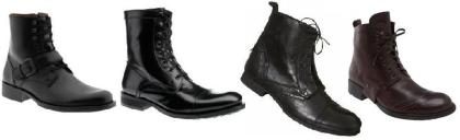 Fall 2008's Best Lace Up Boots For Men