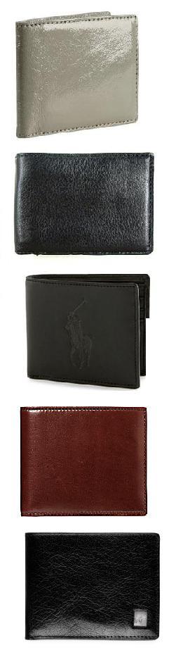 5 Designer Men's Wallets Under $100