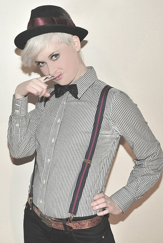 Androgyny Photoshoot With Emma Murray