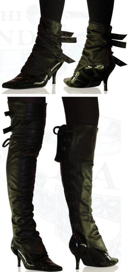 Spats Are An Emerging Footwear Trend For 2009